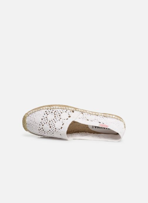 Espadrilles Banana Moon Niwi Espadrille White view from the left