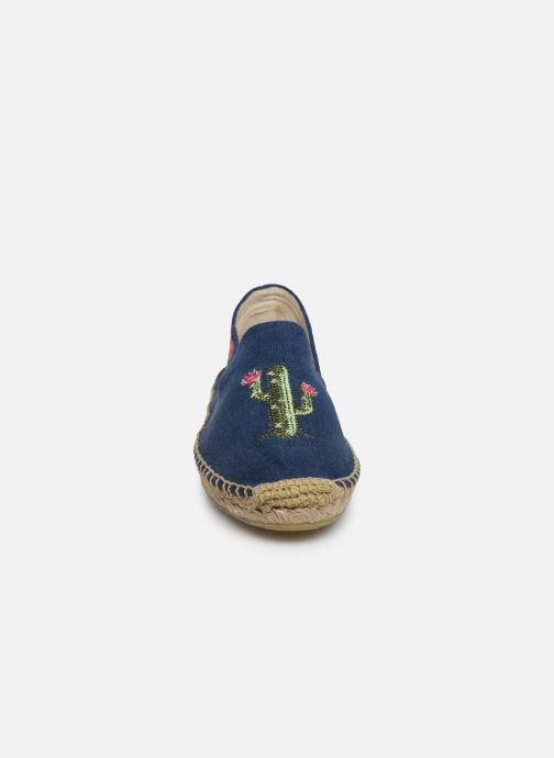 Espadrilles Banana Moon Ozzie Espadrille Bleu vue portées chaussures