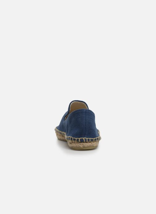 Espadrilles Banana Moon Ozzie Espadrille Blue view from the right