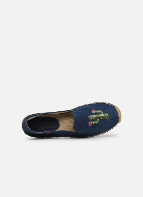 Espadrilles Banana Moon Ozzie Espadrille Blue view from the left