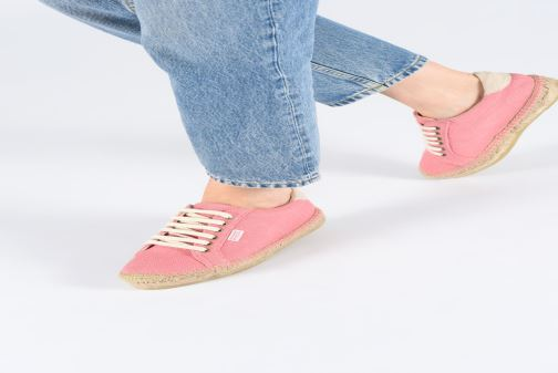 Espadrilles Banana Moon Pacey Espadrille Pink view from underneath / model view