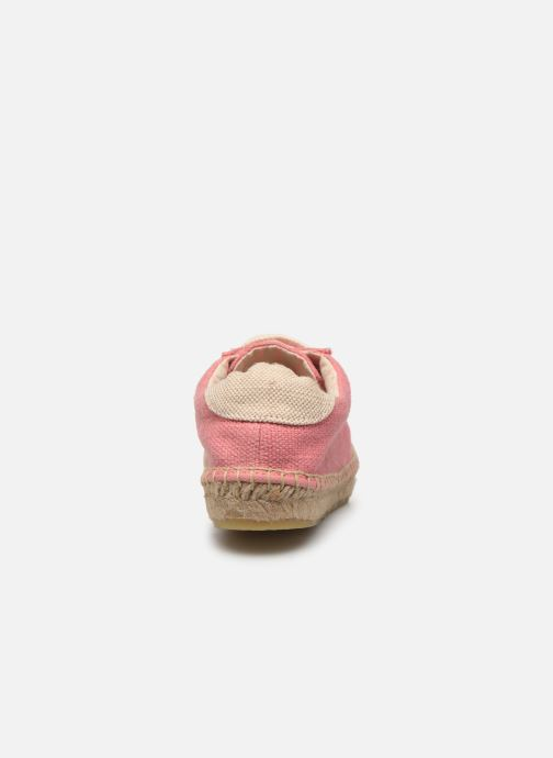 Espadrilles Banana Moon Pacey Espadrille Pink view from the right