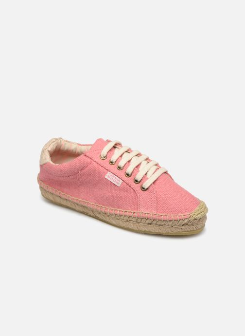 Espadrilles Banana Moon Pacey Espadrille Pink detailed view/ Pair view