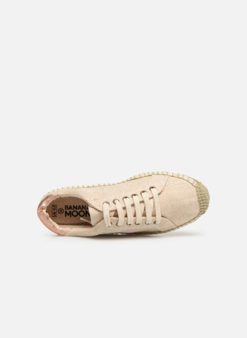 Espadrilles Banana Moon Pacey Espadrille Beige view from the left
