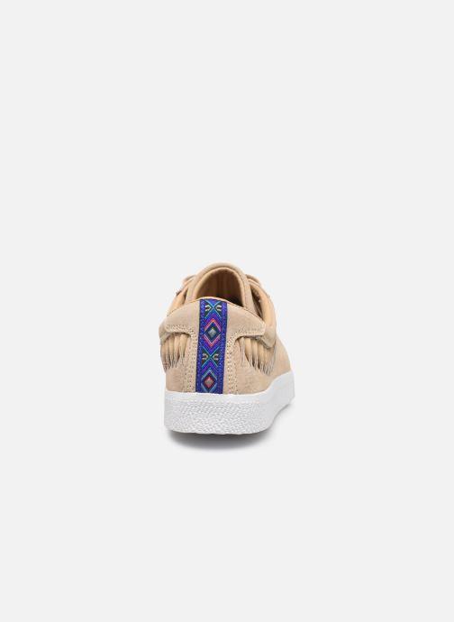 Deportivas Banana Moon Ronky Sneakers Beige vista lateral derecha
