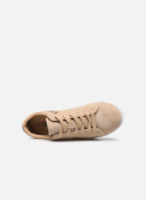 Deportivas Banana Moon Ronky Sneakers Beige vista lateral izquierda
