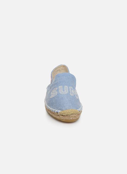 Espadrilles Banana Moon Thais Espadrille Bleu vue portées chaussures