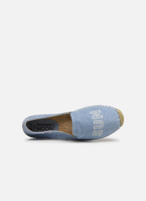Espadrilles Banana Moon Thais Espadrille Blue view from the left