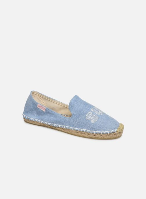 Espadrilles Banana Moon Thais Espadrille Blue detailed view/ Pair view