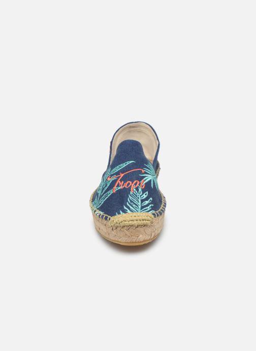 Espadrilles Banana Moon Verao Espadrille Bleu vue portées chaussures
