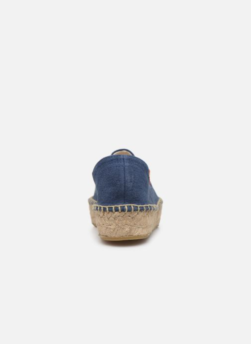 Espadrilles Banana Moon Verao Espadrille Blue view from the right