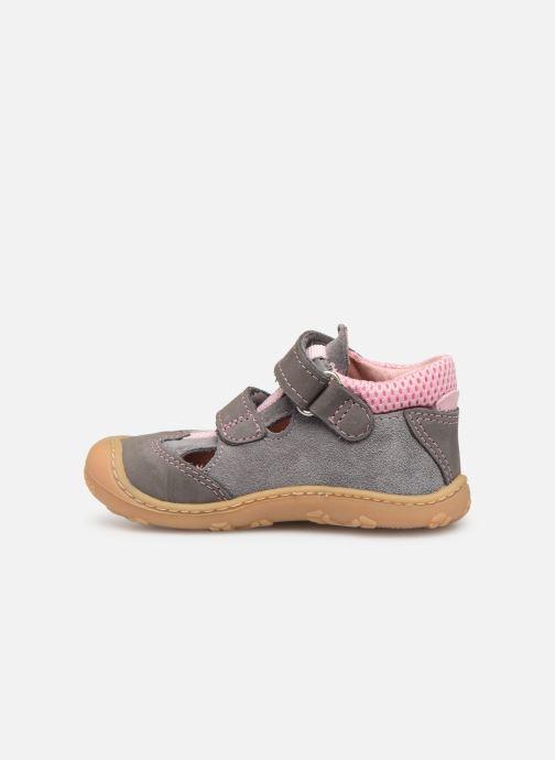 Chaussures à scratch Pepino Ebi Gris vue face