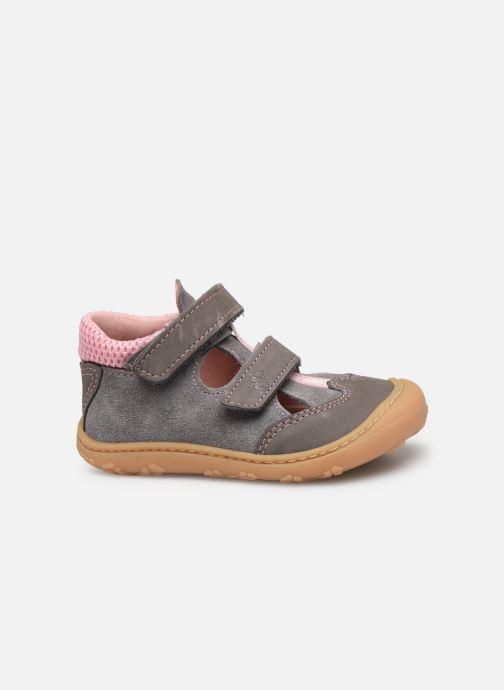 Chaussures à scratch Pepino Ebi Gris vue derrière