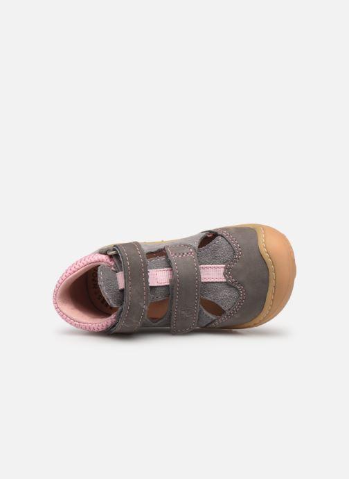 Chaussures à scratch Pepino Ebi Gris vue gauche