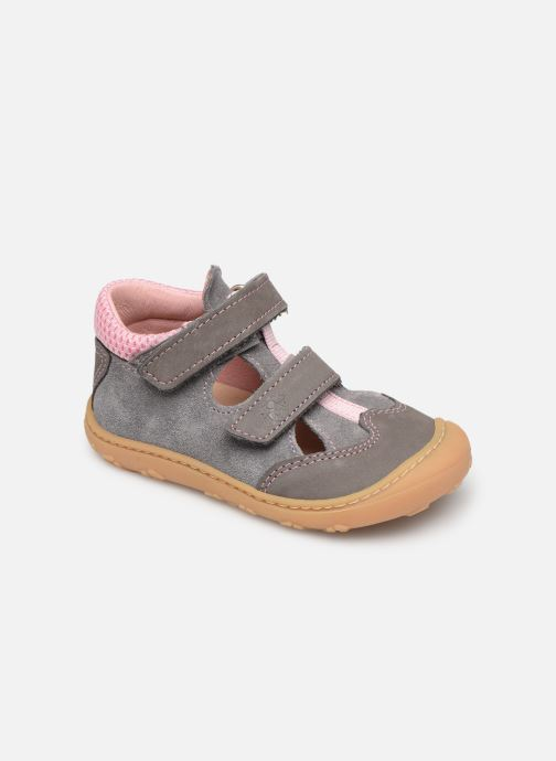 Chaussures à scratch Pepino Ebi Gris vue détail/paire