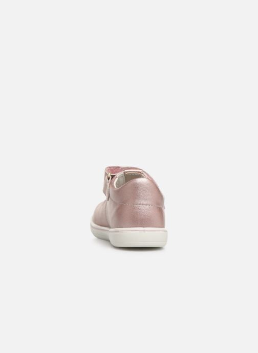Ballet pumps PEPINO Winona Pink view from the right