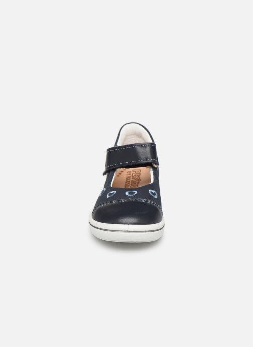 Ballerines PEPINO Corinne Bleu vue portées chaussures