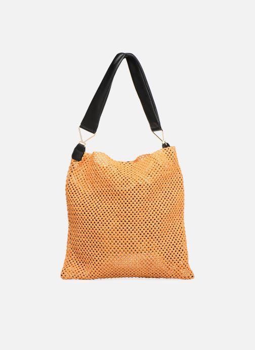 Bolsos de mano Arron HOBO CROCHET Amarillo vista de detalle / par