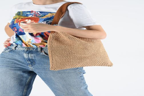 Håndtasker Arron HOBO CROCHET Beige se forneden