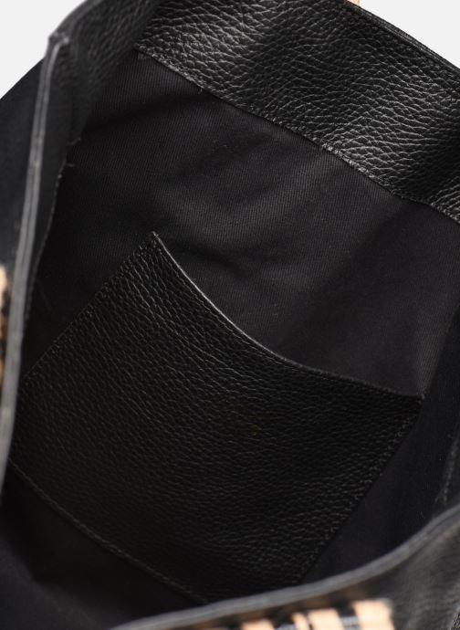 Handtassen Arron DALLARO Zwart achterkant