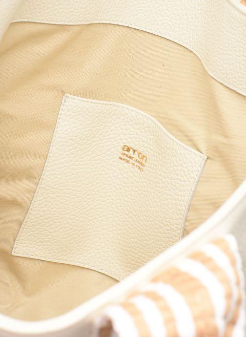 Handtassen Arron DALLARO Wit achterkant