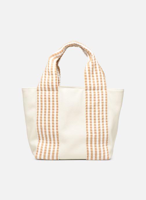 Handbags Arron DALLARO White detailed view/ Pair view