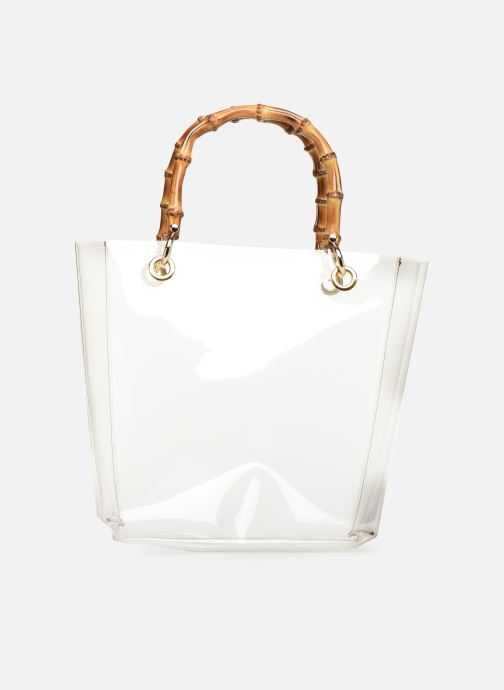 Sacs à main Arron PVC NATURAL BAMBOO Incolore vue face