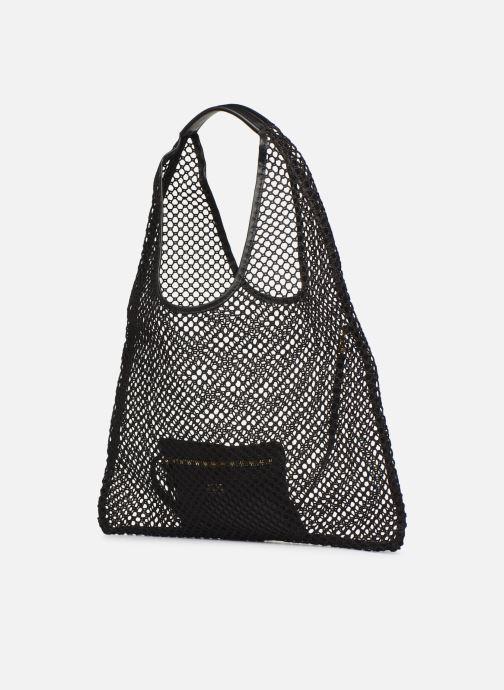 Handtassen Arron HOBO MEDIUM MESH Zwart model