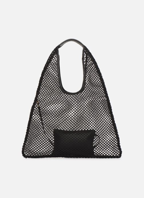 Sacs à main Arron HOBO MEDIUM MESH Noir vue face