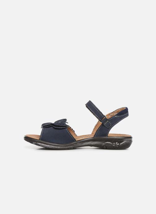Sandals Ricosta Kelebek Blue front view