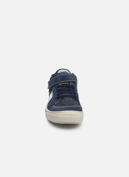 Baskets Ricosta Jona Bleu vue portées chaussures
