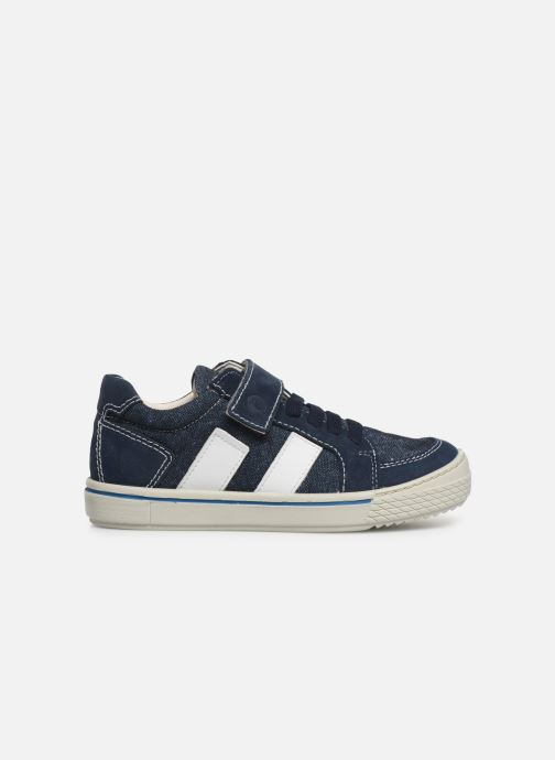 Sneakers Ricosta Jona Blauw achterkant