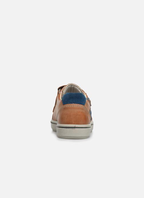Sneakers Ricosta Lucas Marrone immagine destra