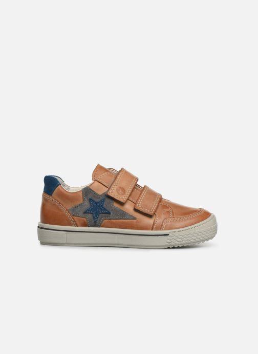 Sneakers Ricosta Lucas Marrone immagine posteriore