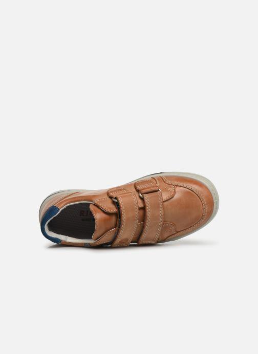 Sneakers Ricosta Lucas Marrone immagine sinistra