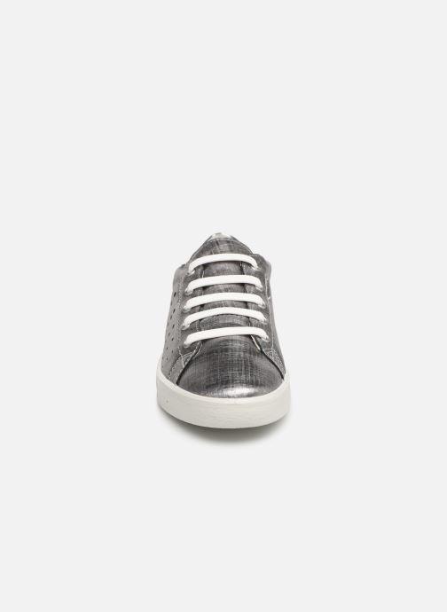 Baskets Ricosta Milou Argent vue portées chaussures