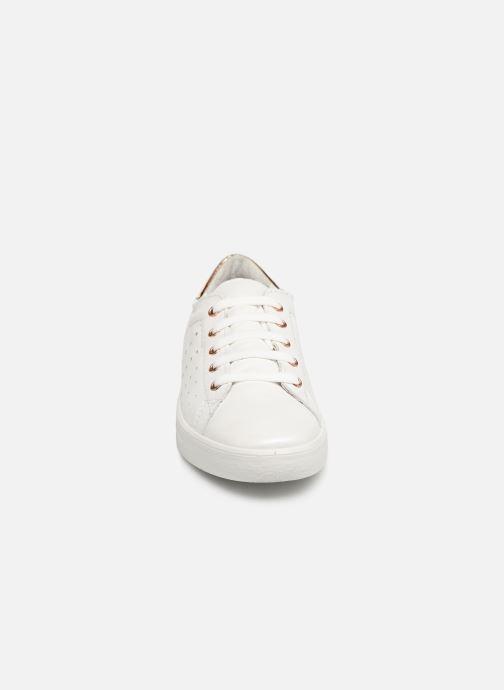 Baskets Ricosta Milou Blanc vue portées chaussures