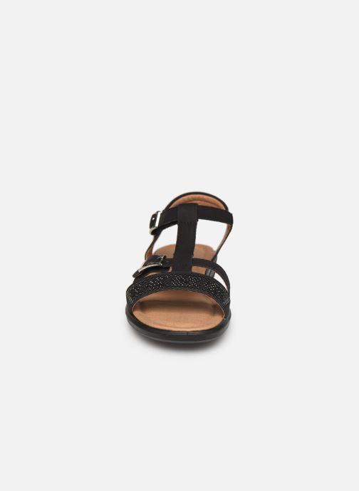 Sandales et nu-pieds Ricosta Bella Noir vue portées chaussures