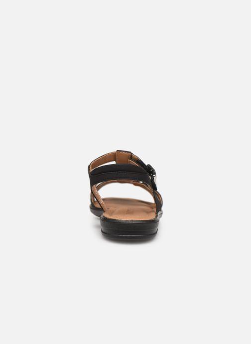 Sandales et nu-pieds Ricosta Bella Noir vue droite
