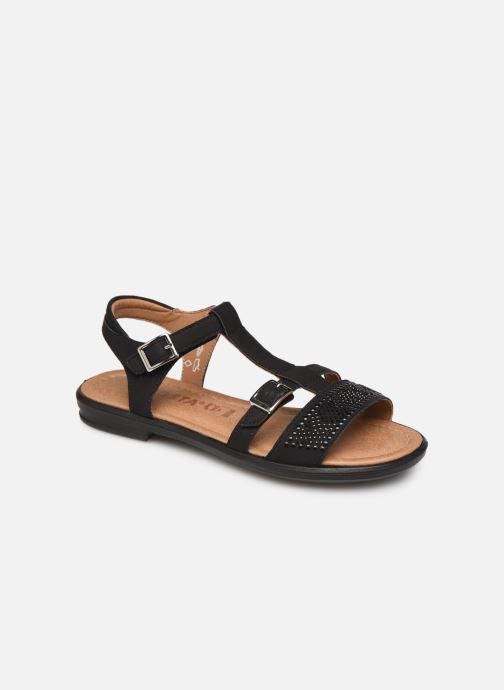 Sandales et nu-pieds Ricosta Bella Noir vue détail/paire
