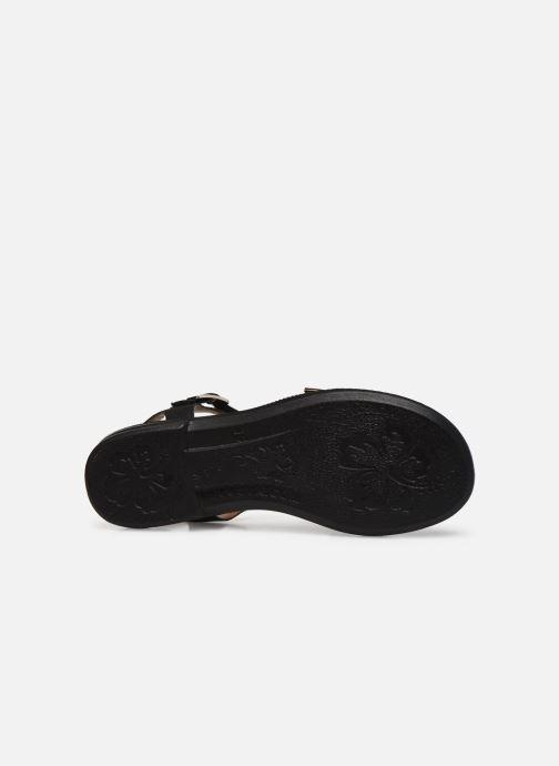 Sandali e scarpe aperte Ricosta Bella Nero immagine dall'alto