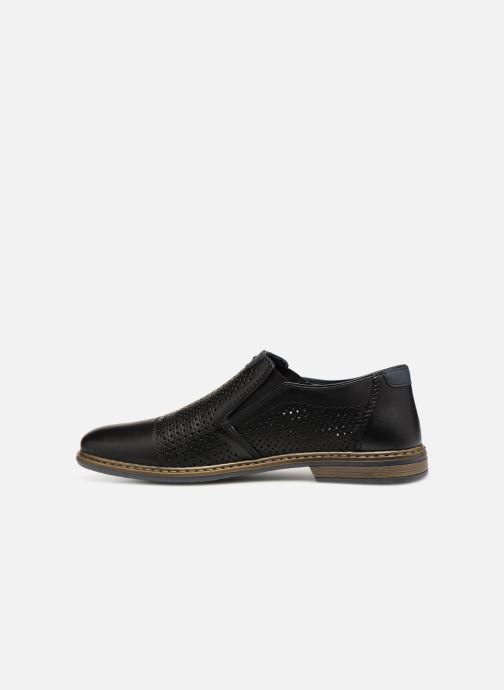 Loafers Rieker Ewan 13496 Black front view