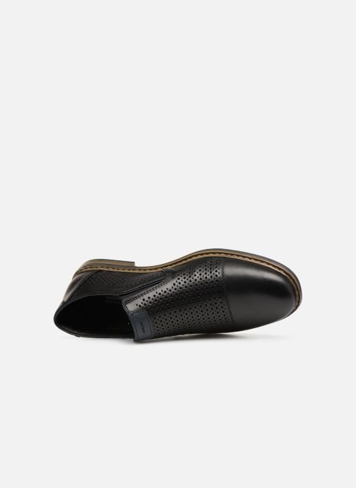 Loafers Rieker Ewan 13496 Black view from the left