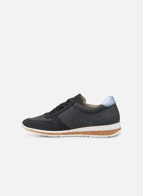 Sneaker Rieker Vanda N5121 blau ansicht von vorne