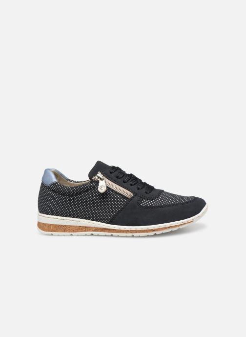 Sneaker Rieker Vanda N5121 blau ansicht von hinten