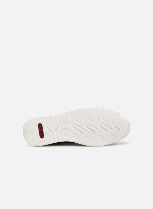 Sneaker Rieker Vanda N5121 blau ansicht von oben