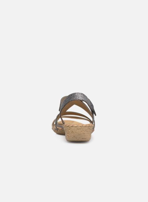 Sandales et nu-pieds Rieker Mirana 61663 Gris vue droite