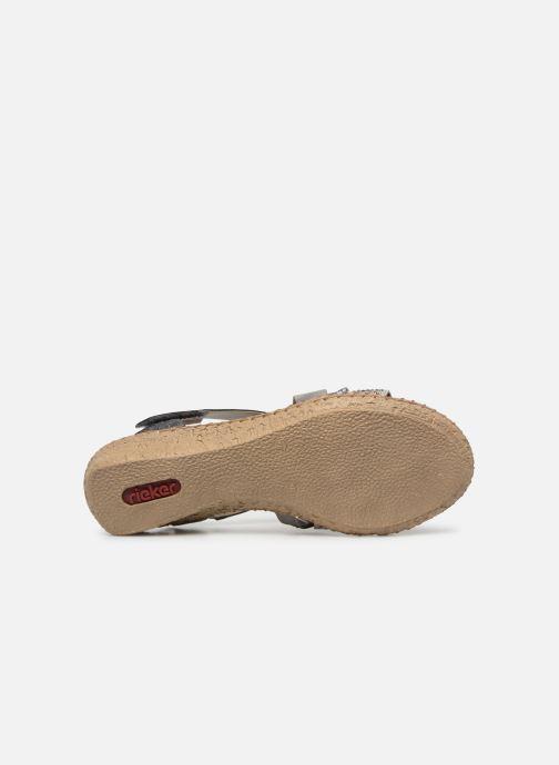 Sandales et nu-pieds Rieker Mirana 61663 Gris vue haut