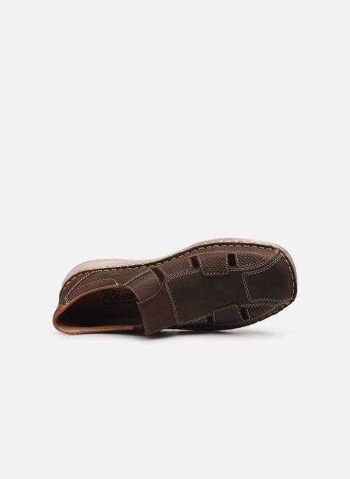 Sneakers Rieker Ernest 03065 Marrone immagine sinistra