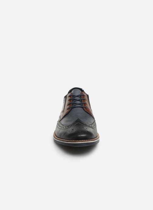 Chaussures à lacets Rieker Tymeo 13520 Bleu vue portées chaussures